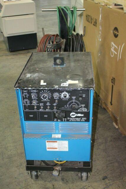 Miller Tig Welder For Sale >> Miller Syncrowave 250 Cc Ac Dc Welding Power Source Tig Welder