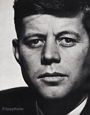 1952 Vintage 16x20 JOHN F. KENNEDY Portrait President Senator ~ PHILIPPE HALSMAN