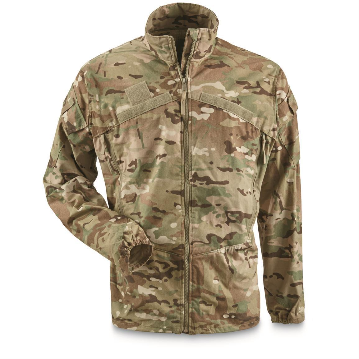 Us Army multicam ocp Ecwcs Gen III level 4 cazadora Chaqueta outdoor ll large Long