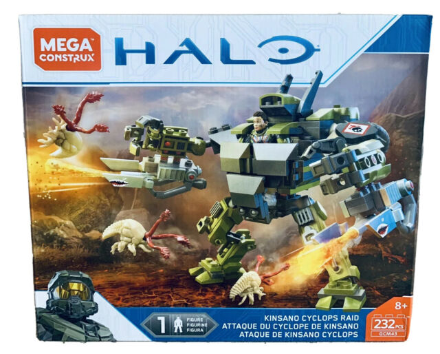 Halo Kinsano Cyclops Raid 232 PCS Building Set 2018 Mega Construx GCM43