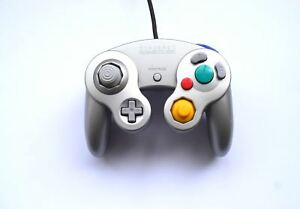 Official-Genuine-Original-Nintendo-GameCube-Wired-Gaming-Controller-Silver