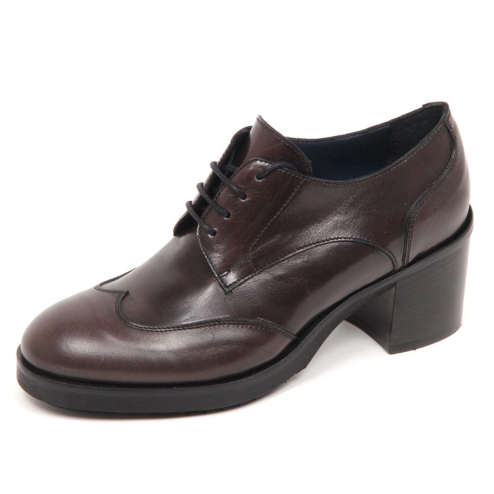 Grandes zapatos con descuento E1164 scarpa donna brush grey LE BLE vintage shoe boot woman