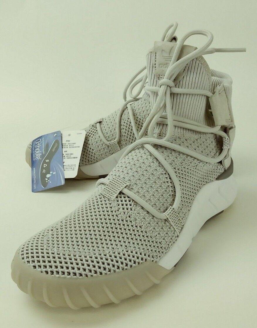 Adidas Mens 5 Sneakers EVH 791004 US 5 Mens Gray Suede primeknit High top new 3444 9ef3e2