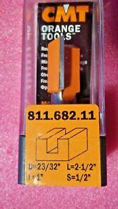 "CMT Orange Tools  811.182.11 1//4/"" Shank Straight Router Bit"