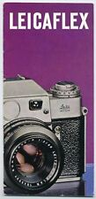 Leicaflex Camera & Lens Brochure 1965. More Leica Booklets & Leaflets Listed