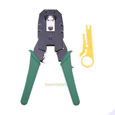RJ45 RJ12 RJ11 CAT5 Network LAN Cable Wire Ratchet Crimper Pliers Crimp Tools