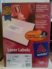 avery premium white laser address label 18 per sh 100sheets 635 x 466mm l7161