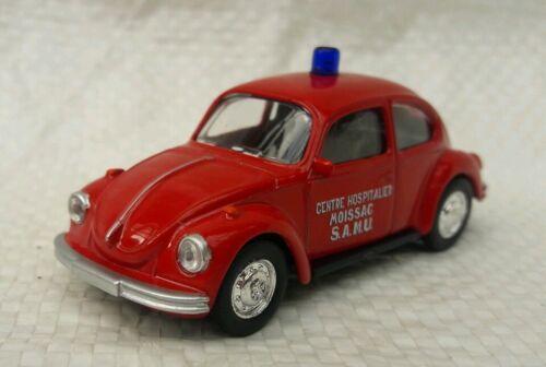 Norev 3 inches Volkswagen Coccinelle pompiers ech  1//60 Neuf en boite.