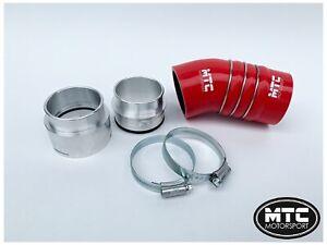 MTC-MOTORSPORT-BMW-335D-E90-E91-E92-E93-3-Rojo-Manguera-De-Silicona-Intercooler-Boost