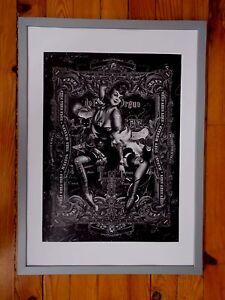 Handiedan-034-Hecate-034-Serigraphie-Originale-Signee-et-Numerotee-Tirage-75-ex