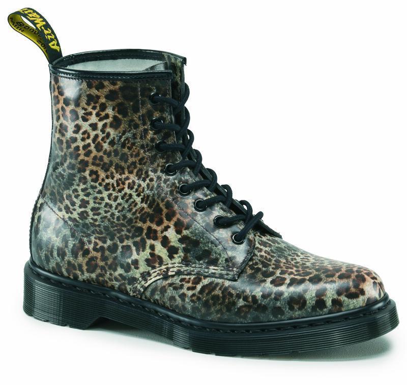 Dr Martens 8 Agujeros 1460 Leopardo Leopardo Leopardo Estampado 13434225 Original Classic Doc  grandes precios de descuento