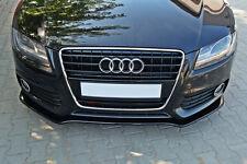 Sportback Front Bumper Lower Lip Audi 8T S5 A5 spoiler Cup Chin Valance Splitter
