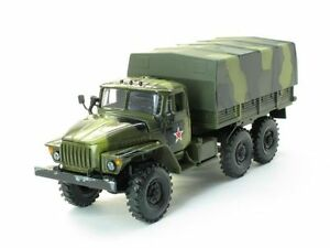 ural 4320 russian army 6x6 military truck 1 43 die cast. Black Bedroom Furniture Sets. Home Design Ideas
