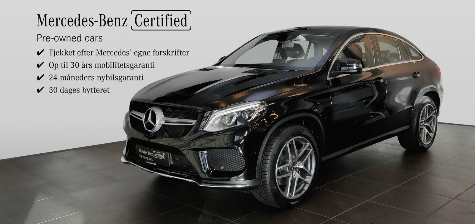 Mercedes GLE350 d 3,0 Coupé aut. 4-M 5d - 1.074.900 kr.