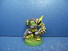 RAR! Alter Ork Boss in Megarüstung / eavy Armour der Space Orks BEMALT 1