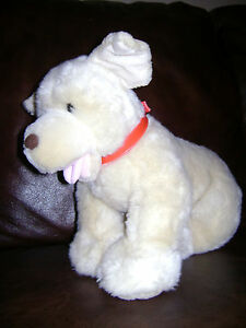 "BUILD A BEAR PUP PUPPY DOG GOLDEN RETRIEVER 15"" PLUSH STUFFED ANIMAL CUTE SOFT"