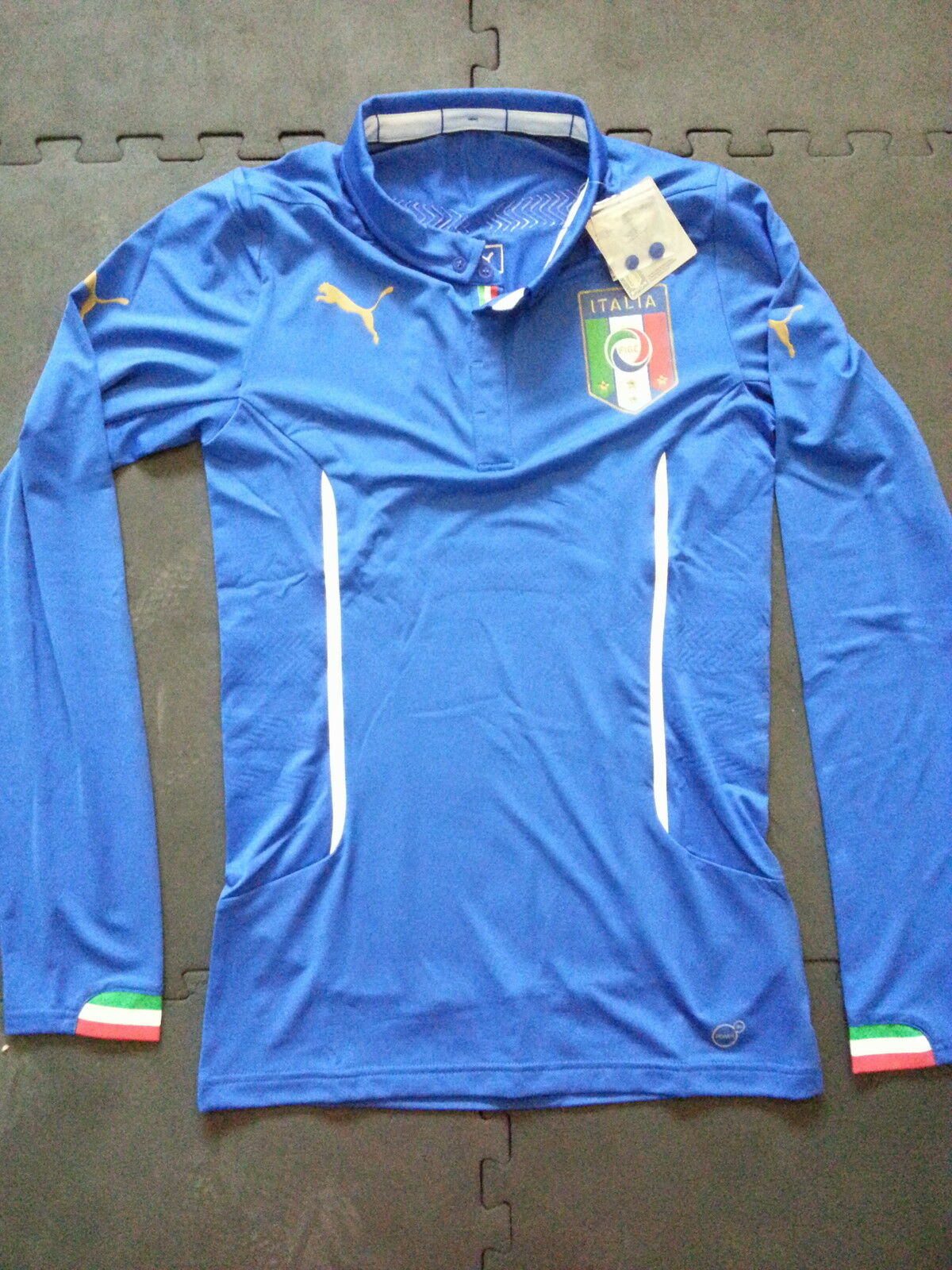Maillot Puma Italie Italy ACTV Player Issue Issue Issue Trikot Shirt Jersey Maglia Camiseta 3bdf41