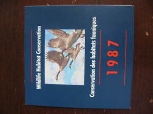 Canada-1987-duck-stamp-FWH3-MNH-in-Booklet-as-issued