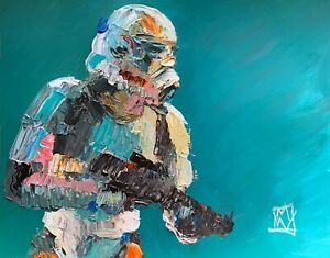 ORIGINAL-Abstract-Classic-Stormtrooper-Star-Wars-Portrait-Wall-Art-Painting-14-034