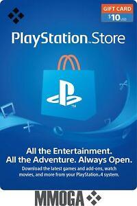 $10 USD PSN PlayStation Network Key 10 US Dollar Gutschein PS3 PS4 PS Vita - US