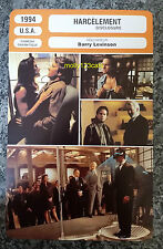 US Erotic Thriller Disclosure Michael Douglas Demi Moore French Film Trade Card