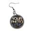 Personalised Photo Earrings Costume Jewellery Design Custom Picture Image
