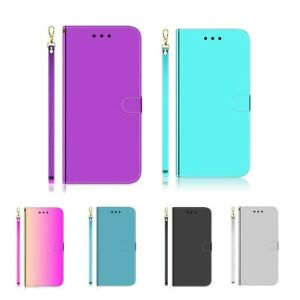 Imitate-Mirror-Flip-PU-Leather-Card-Wallet-Case-Cover-For-Sony-Xperia-1-5-20