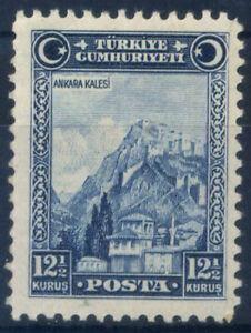 Turkei-1929-Mi-889-Ungebraucht-100-12-1-2-k-Ankara