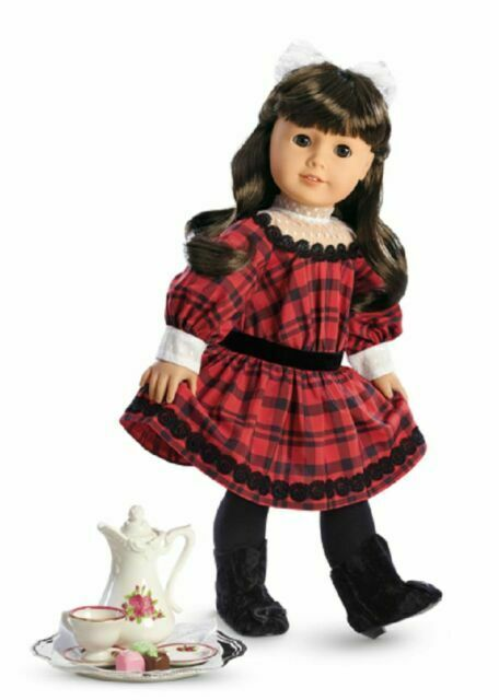 AMERICAN GIRL SAMANTHA'S CHRISTMAS BOX retired BRAND NEW NIB gift accessories