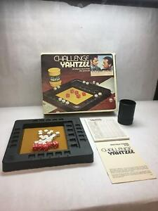 VINTAGE-Challenge-YAHTZEE-Dice-GAME-Odd-COUPLE-Edition-ALL-Pieces-INCLUDED