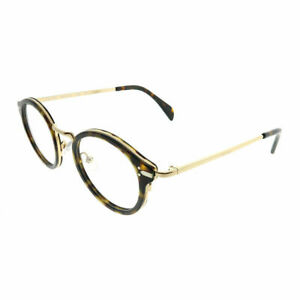 c21606e084a8 Celine Joe CL 41380 ANW Black Gold Plastic Round Eyeglasses 46mm ...