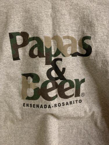Vintage Papas & Beer T Shirt Ensenada - Rosario Gr