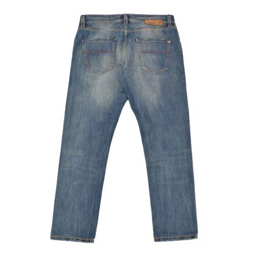 Top L29 Blau Pants Hose W33 Tramarossa Leonardo Strech Herren Jeans qzfStnwBx