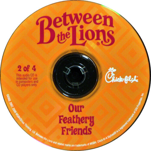 Between the Lions Audio CD Our Feathery Friends from Chick-fil-a Kid/'s Meal