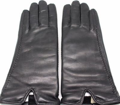 NEW WOMENS FOWNES BROTHERS LEATHER GLOVES WATER REPELLENT TOUCHSCREEN COMPATIBLE