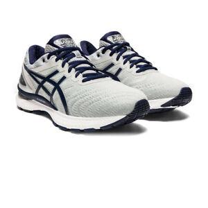 Asics-Homme-Gel-Nimbus-22-Chaussures-De-Course-Baskets-Sneakers-Blanc-Sport-Respirant