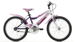 Dettagli Su Bici Bicicletta Bimba Ragazza Mtb Ariel 20 Fuxia Bianco Rosa Cinzia 1 Velocita