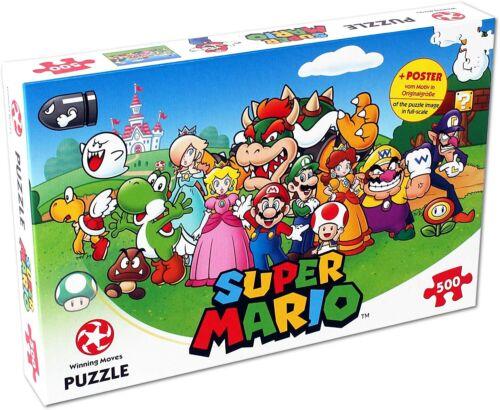 Winning Moves Mario und Freunde 500 Teile Puzzle