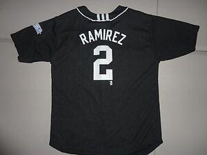 866b5c1717c Black Florida Marlins  2 Hanley Rameriz MLB Baseball Jersey Youth L