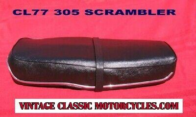 STRAP A11 Honda  CL 72 CL 77 Scrambler 305 BRAND NEW HIGH QUALITY SEAT COVER