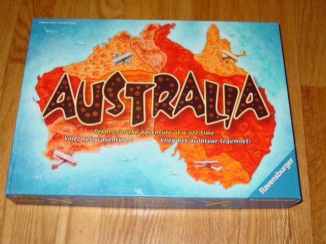 Ravensburger 2005 - australien spiel - ein abenteuer ihres lebens - 100% abgeschlossen