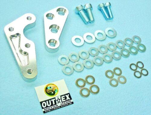 Caliper Adapter Bracket for YZ450F// Brake Disc Rotor 320 Brembo 4P Caliper 40mm