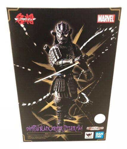 "Tamashii Nations Manga Realization Onmitsu Black Spiderman /""Marvel/"""