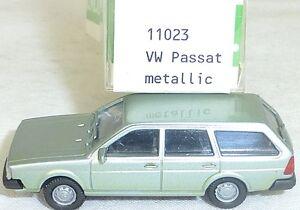 Vw-passat-B-1981-petrol-Metallic-Mesureur-EUROMODELL-11023-h0-1-87-OVP-2-ga-5-a