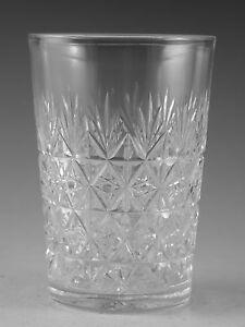 Thomas-WEBB-Crystal-WELLINGTON-Cut-Tumbler-Glass-Glasses-4-1-8