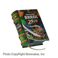 Miniature Book Copa Do Mundo Brasi 2014 Portuguese Full Color 330 Readable Pages