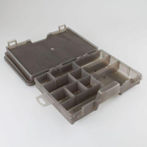 Gerätebox Doppelbox Zwei Fächer 4650-28x18x7cm Zubehör Angelkiste Köderbox