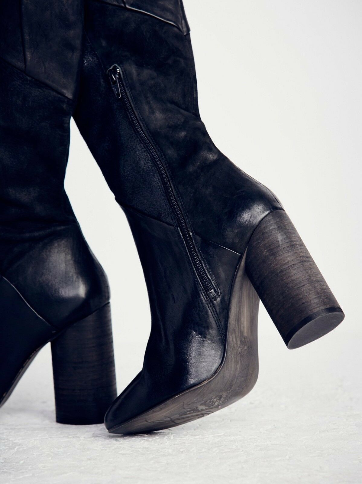 Free Free Free People Bright Lights Tall Boot Size6.5  MSRP 398 New Women Leather f70a33