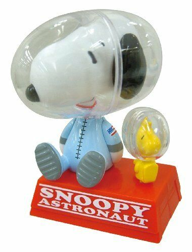 Cube USB Swing Snoopy Peanuts Astronaut 8cm With Jumping Woodstock Fo From japan