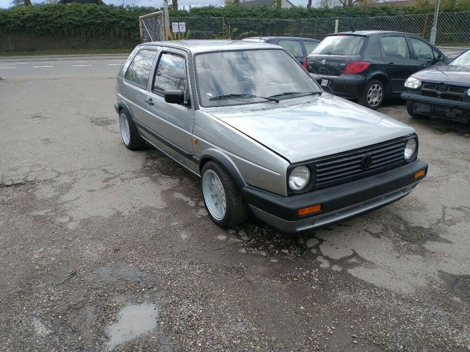 VW Golf II, 1,8 GT, Benzin